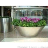 不锈钢花盆 落地 不锈钢拉丝花盆 不锈钢镜面花盆