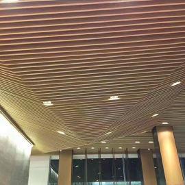 型材吊顶格栅铝方管特点 红古区背景墙隔断铝方管