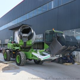 1.8方自上料 捷克机械 混凝土搅拌车厂家直销