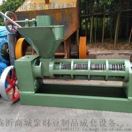 商丘小型全自动大豆榨油机厂家 新式大豆榨油机特点