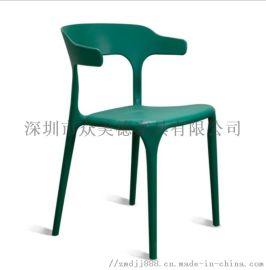餐厅椅子侯位椅定做,塑料椅子供应厂家,小清新椅子