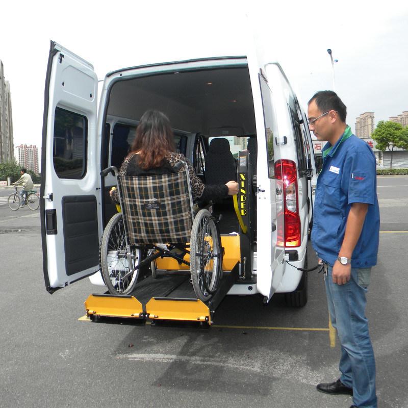 全顺尾门电动升降台 多款商务车适用液压升降平台