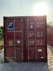 深圳20尺  貨櫃,二手集裝箱,標準貨櫃集裝箱