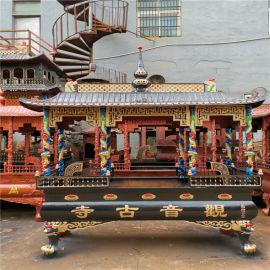 宁夏铸铁长方形香炉 银川铸铜圆形香炉铸造生产厂家