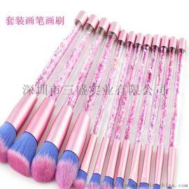 专业油画笔笔杆油画刷刷柄生产加工厂家深圳三盛实