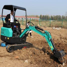 大棚农用挖沟推土机 捷克 17型多功能破碎小挖机