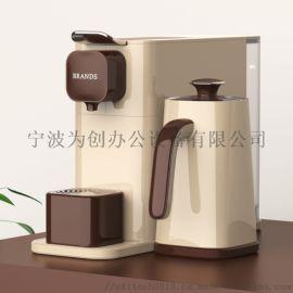 智能胶囊奶泡机 多功能便携式胶囊咖啡机