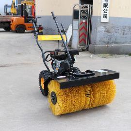 捷克定制扬雪机 家用小型除雪车 滚刷快速扫雪机