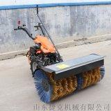 经济耐用 环卫路面手推式清雪车 滚刷式抛雪扫雪机