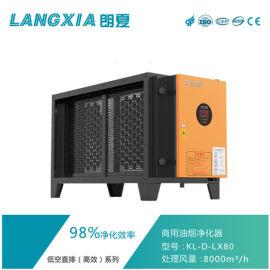 8000处理风量高效油烟净化设备 郎夏油烟净化器