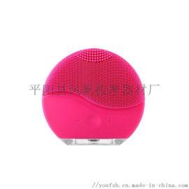 毛孔清洁仪面部按摩仪电动硅胶洁面仪超声波洁面仪