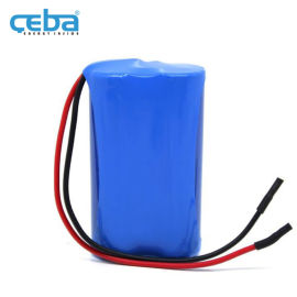 18650锂电池组7.4V二串联带线带保护板电池组
