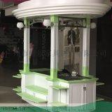 北京網紅小吃打卡售賣車售賣亭設計定製款,找時景傢俱