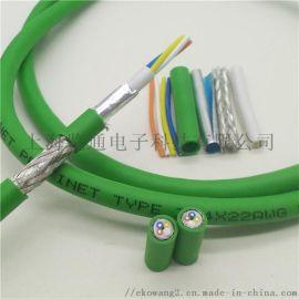 profinet工业以太网电缆Ethercat通讯屏蔽网线