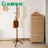 木质衣帽架简约现代挂衣架子落地简易卧室衣服置物架