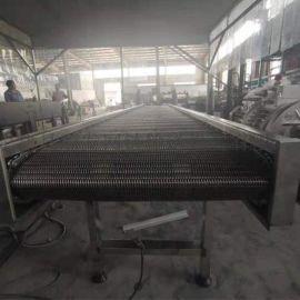 不锈钢网带提升输送机
