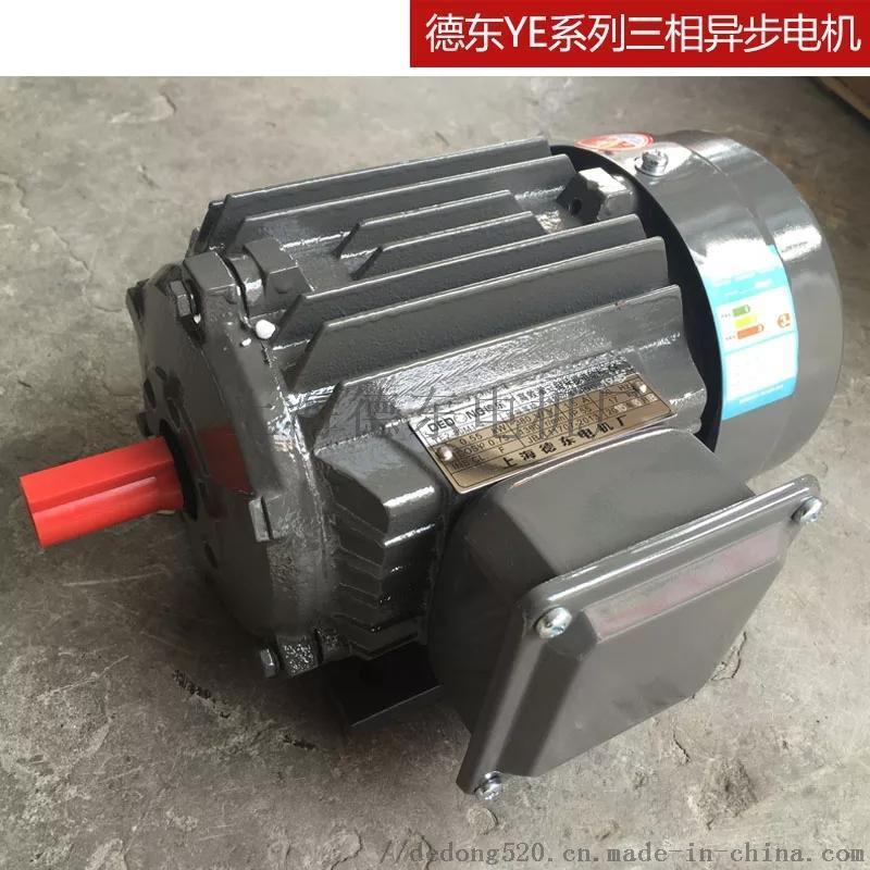 德东电机厂电机设计YE2-112M-8 1.5KW