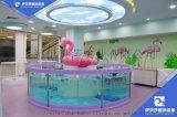 山东东营儿童游泳池钢化玻璃设备伊贝莎