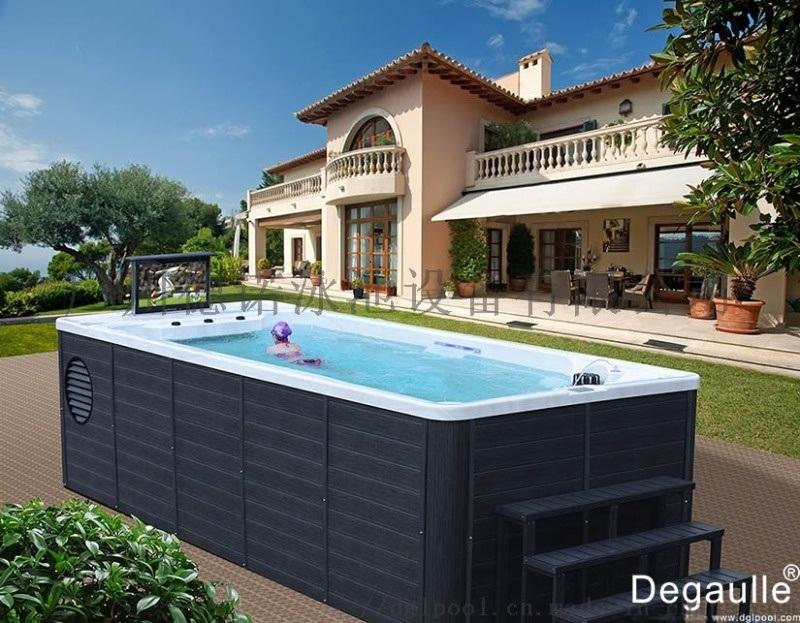 戴高樂無邊際泳池DGL5823,小泳池游泳距離不再受限