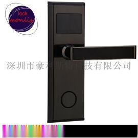 宾馆刷卡锁酒店刷卡锁ic卡锁感应锁公寓民宿锁智能门锁