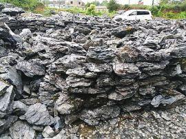 矿山直销英石千层石叠石 庭院花园鱼池假山驳岸堆砌造景石
