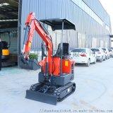 捷克 旱厕改造小型履带挖掘机 10微型挖机勾机型号