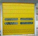 快速堆積卷簾門 自動升降車間保溫門 定制軟簾提升門