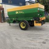 大型拖拉机带撒肥车 小麦施肥车