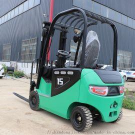 捷克 1.5吨高配座驾电动堆高叉车 电动叉车