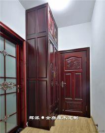 长沙中式实木家具实木酒柜、实木展示柜定制深受好评