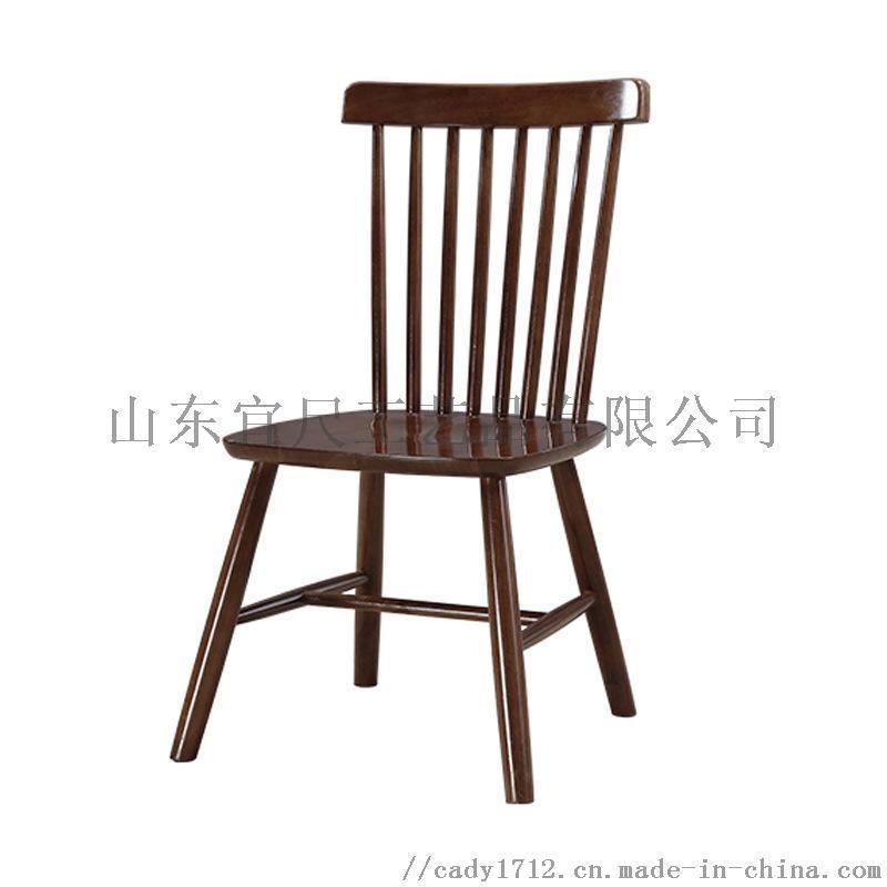 定制餐厅桌椅主题西餐厅饭店桌椅组合