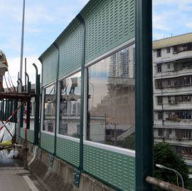 市政工程隔音消音屏障