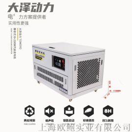 大泽动力10KW静音汽油发电机