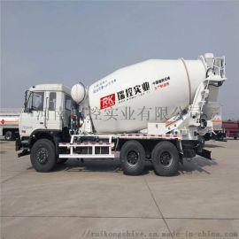 供应混凝土搅拌运输车 建筑工地专用商砼罐车 水泥罐车价格