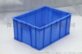 深圳塑料胶箱各类全新料周转箱多款物料箱胶盘塑胶制品