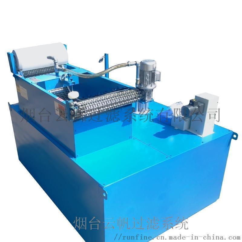 纸带过滤机及水箱组合