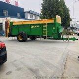 有機肥撒肥機 牽引式溼粘糞撒糞車 大量糞肥撒肥機