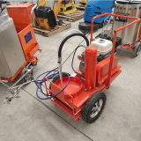 塑胶跑道划线车 岳工机械 手推式冷喷划线机
