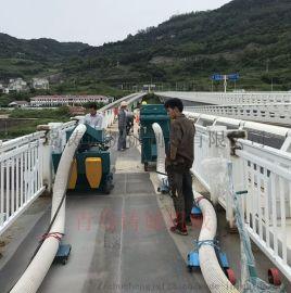 厂家直销钢桥面抛丸清理机-桥面防水粗化设备