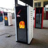 生物顆粒取暖爐家用全自動採暖爐環保生物質顆粒真火熱風壁爐廠家