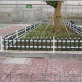 內蒙古巴彥淖爾花壇護欄生產廠家 pvc草坪護欄圖片大全