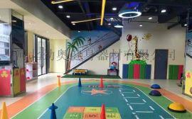 地胶厂家功能定制地胶健身房工作室儿童体适能馆用地胶