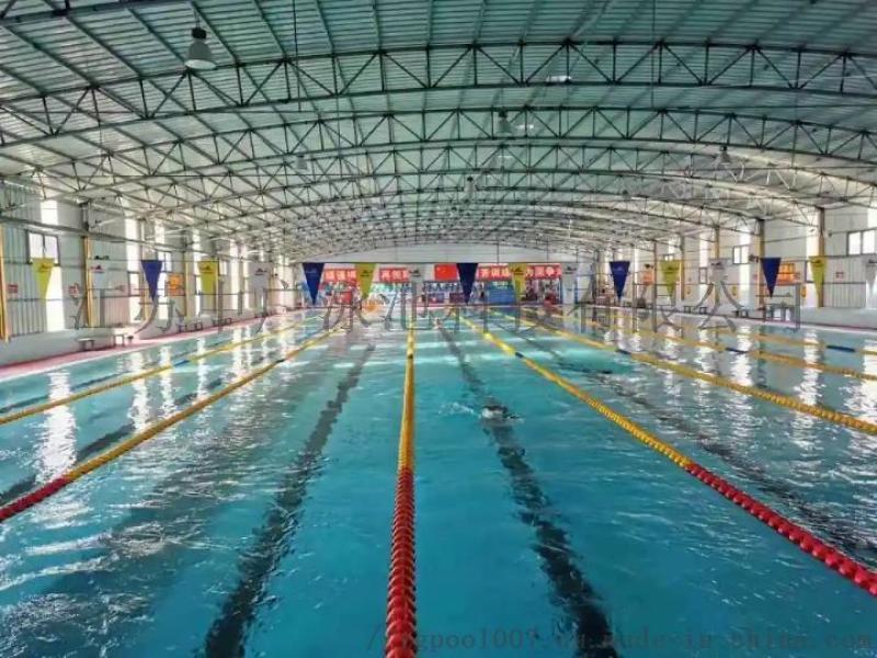 全国售拼接式钢结构游泳池