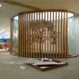 天猫超市外墙木纹铝方管 桥梁吊顶造型铝方管
