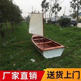 黔东防腐木海盗船手工海盗船时尚