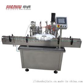 标准灌装润滑油机器自动封口机高速旋盖