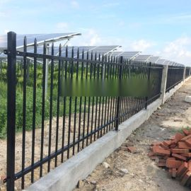 佛山工厂围栏定做 服务区栅栏 从化小区铁艺栏杆现货