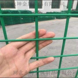 永坤双边丝护栏网框架护栏网小区围栏高速铁路隔离围栏
