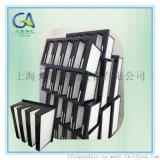 F8塑料框密折式亚高效过滤网