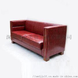 热销款咖啡厅卡座 双人组合卡座沙发 沙发卡座定做